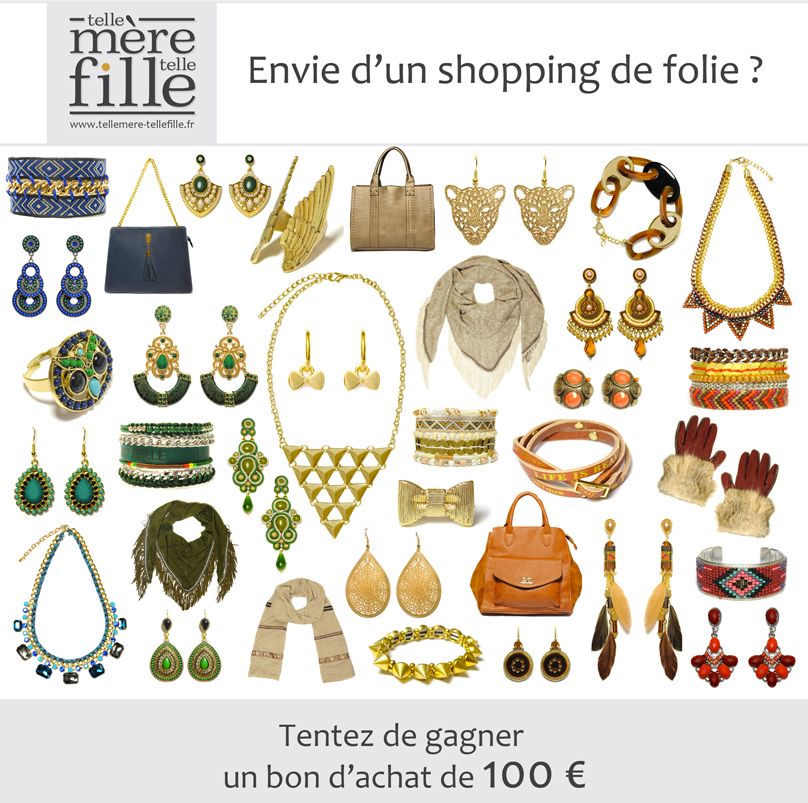 ENVIE D'UN SHOPPING DE FOLIE ? SUPER CONCOURS DE NOEL