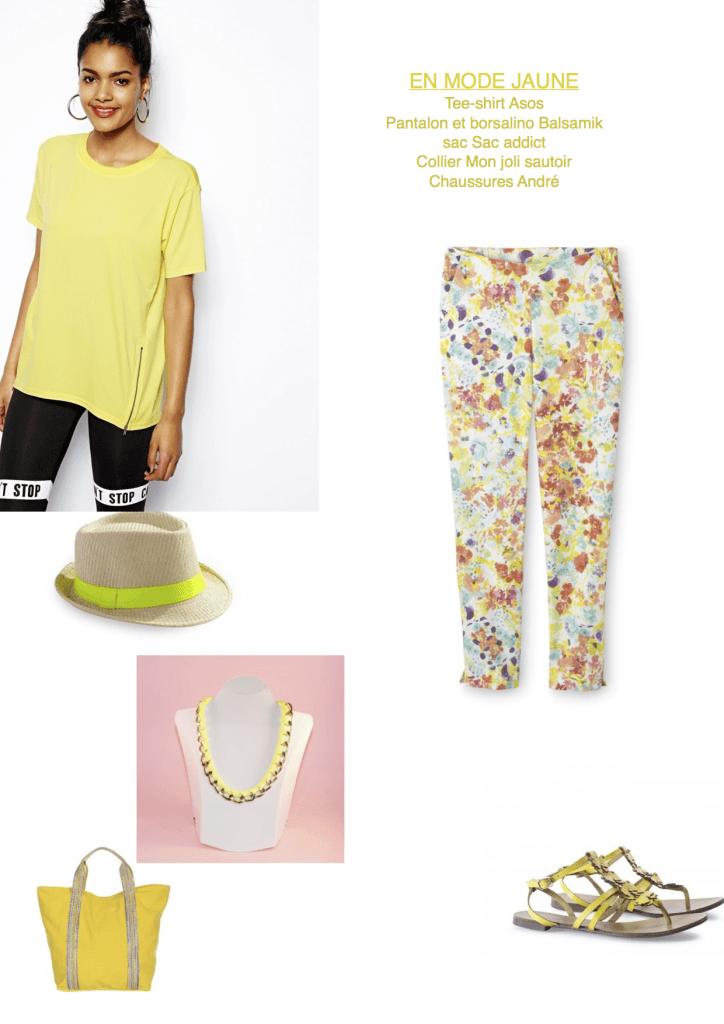 En mode jaune