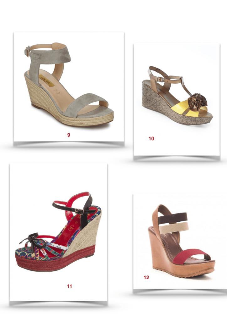 Sélection de sandales