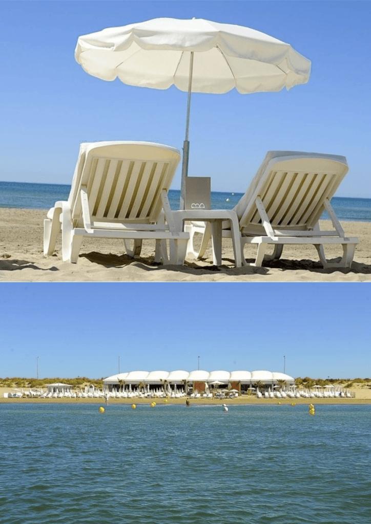 Petit plaisir de l'été : la plage privée