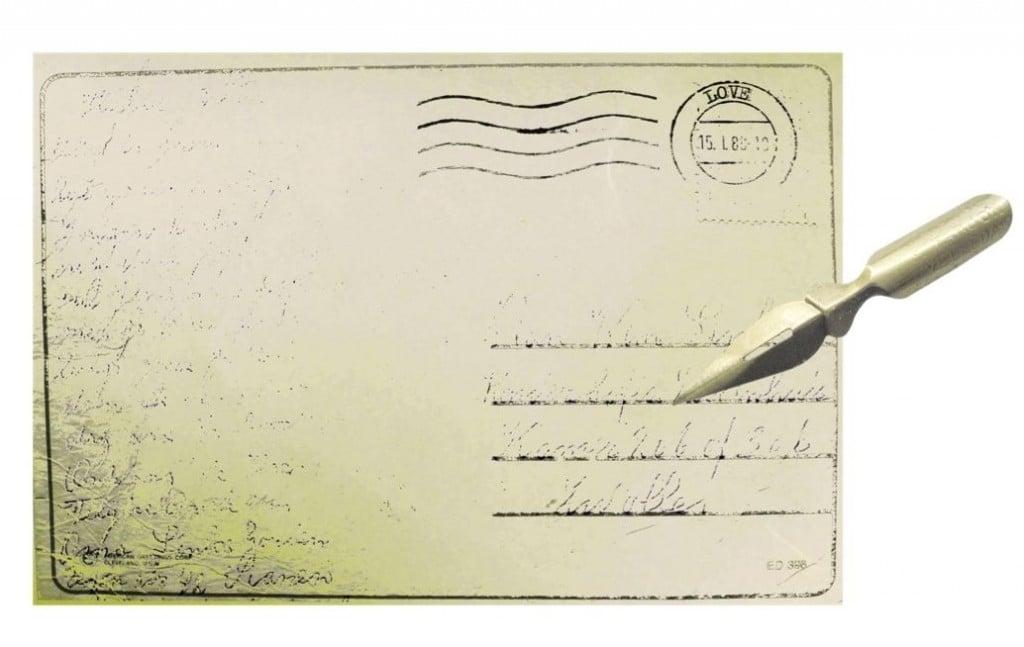 La lettre.