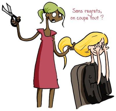 Coupe de cheveux : Fatale erreur!