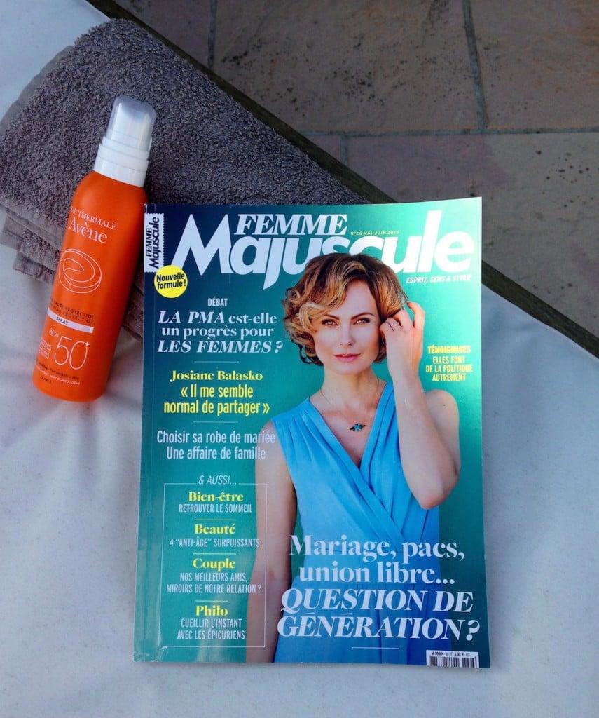 Femme Majuscule à Montpellier- la provinciale
