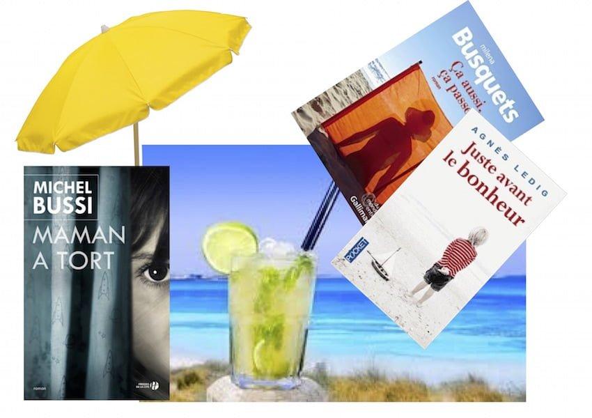 Des livres pour les vacances.