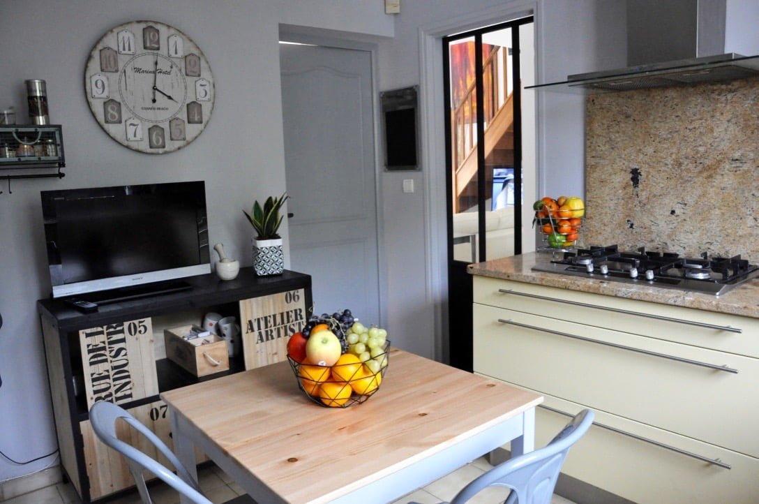 Ma cuisine style atelier d 39 artiste for Cuisine d