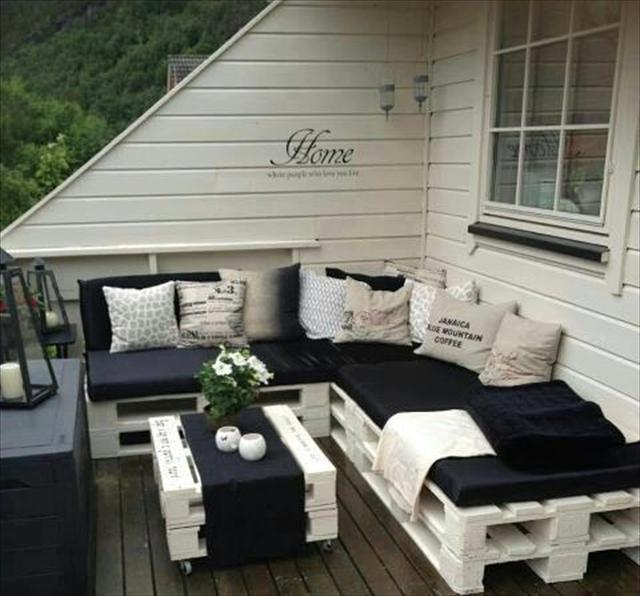 Salon de jardin en mode récup_La provinciale.