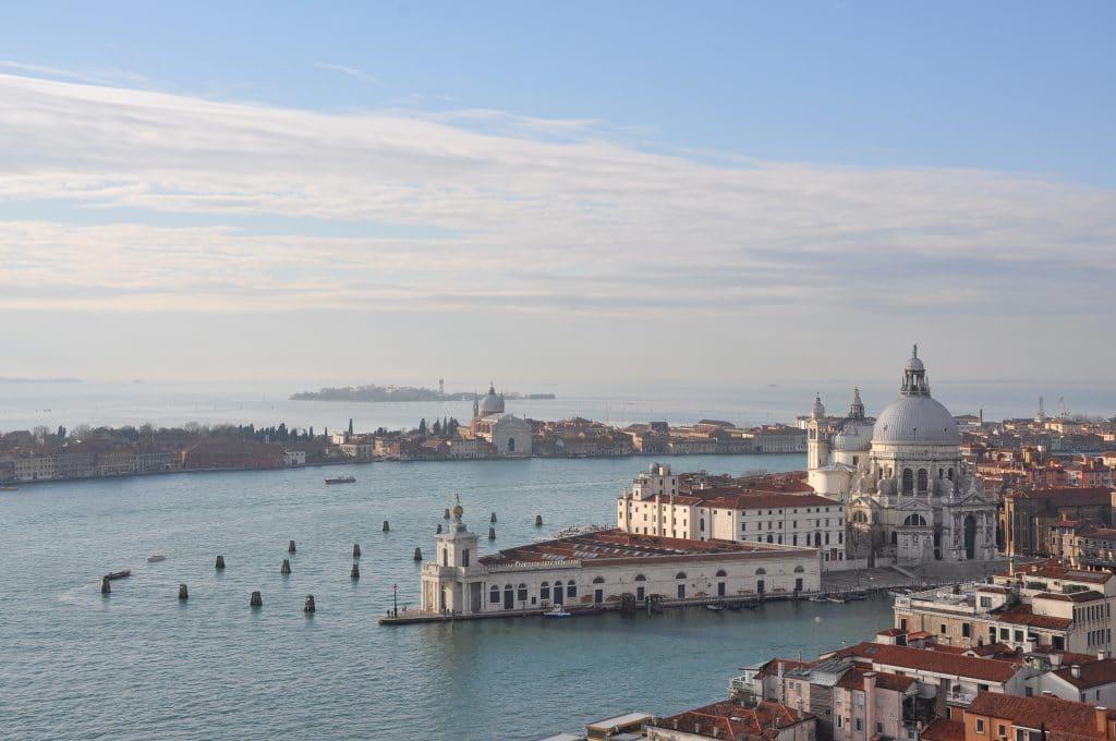 Venise en hiver.