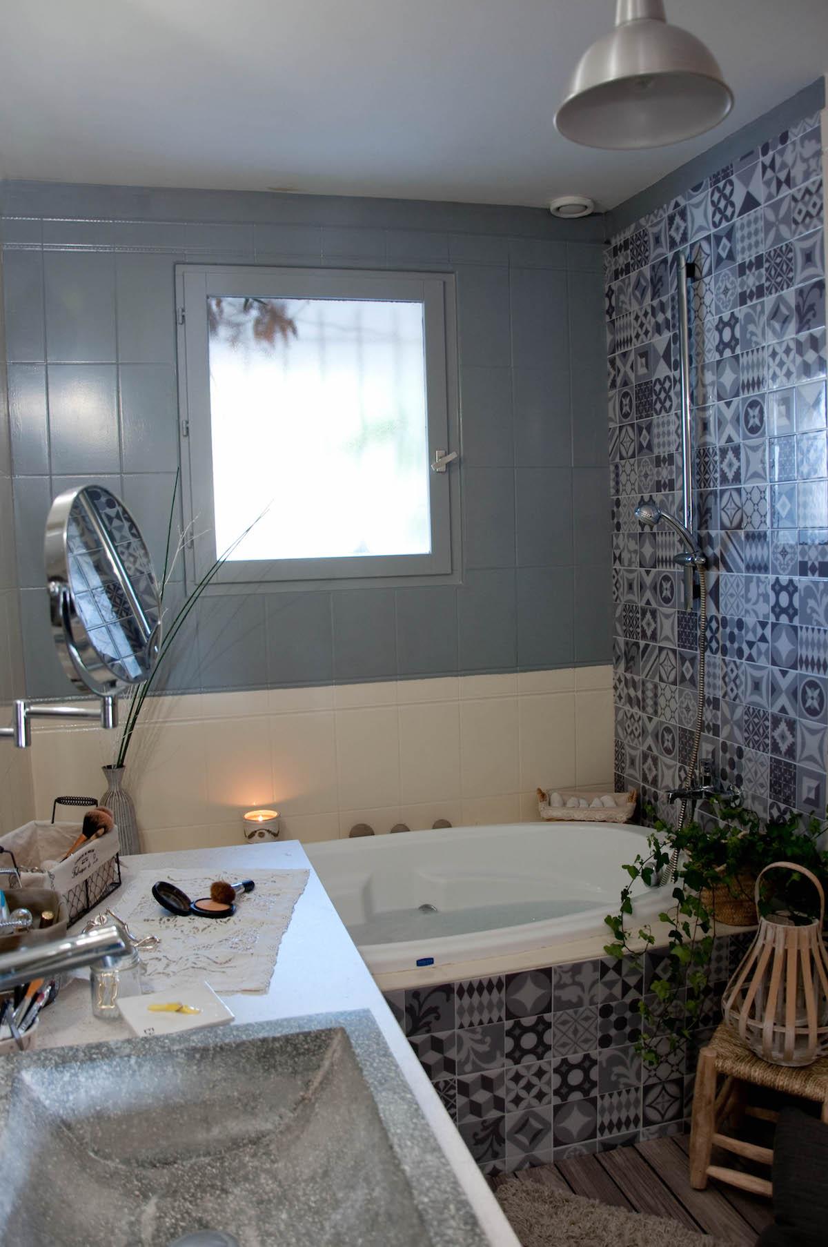 Nouveaux look pour une  salle de bain