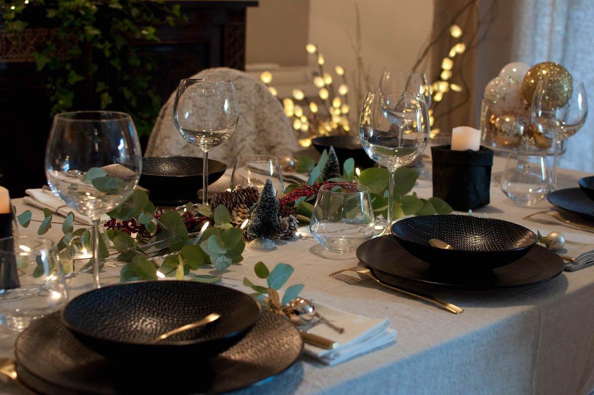 ma table de noel glamour d coration et inspiration. Black Bedroom Furniture Sets. Home Design Ideas