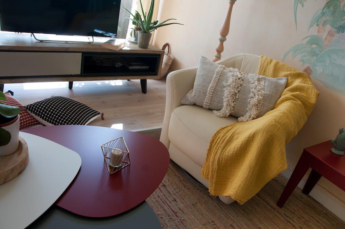 Le relooking doux d'un appartement dans le sud de la France