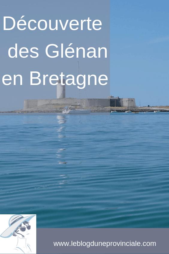 Les Glénan en Bretagne