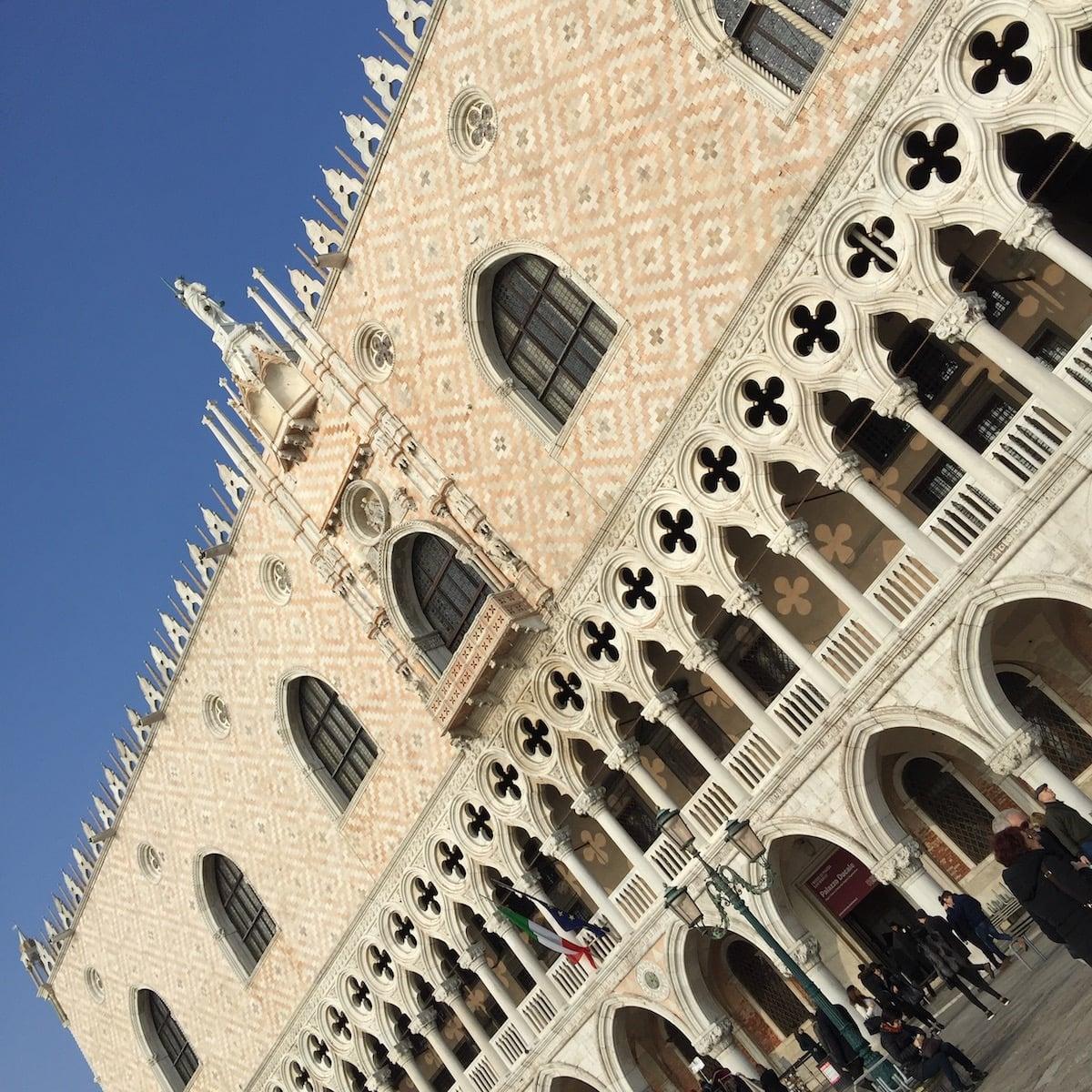 Le Palais des Doges Venise en hiver