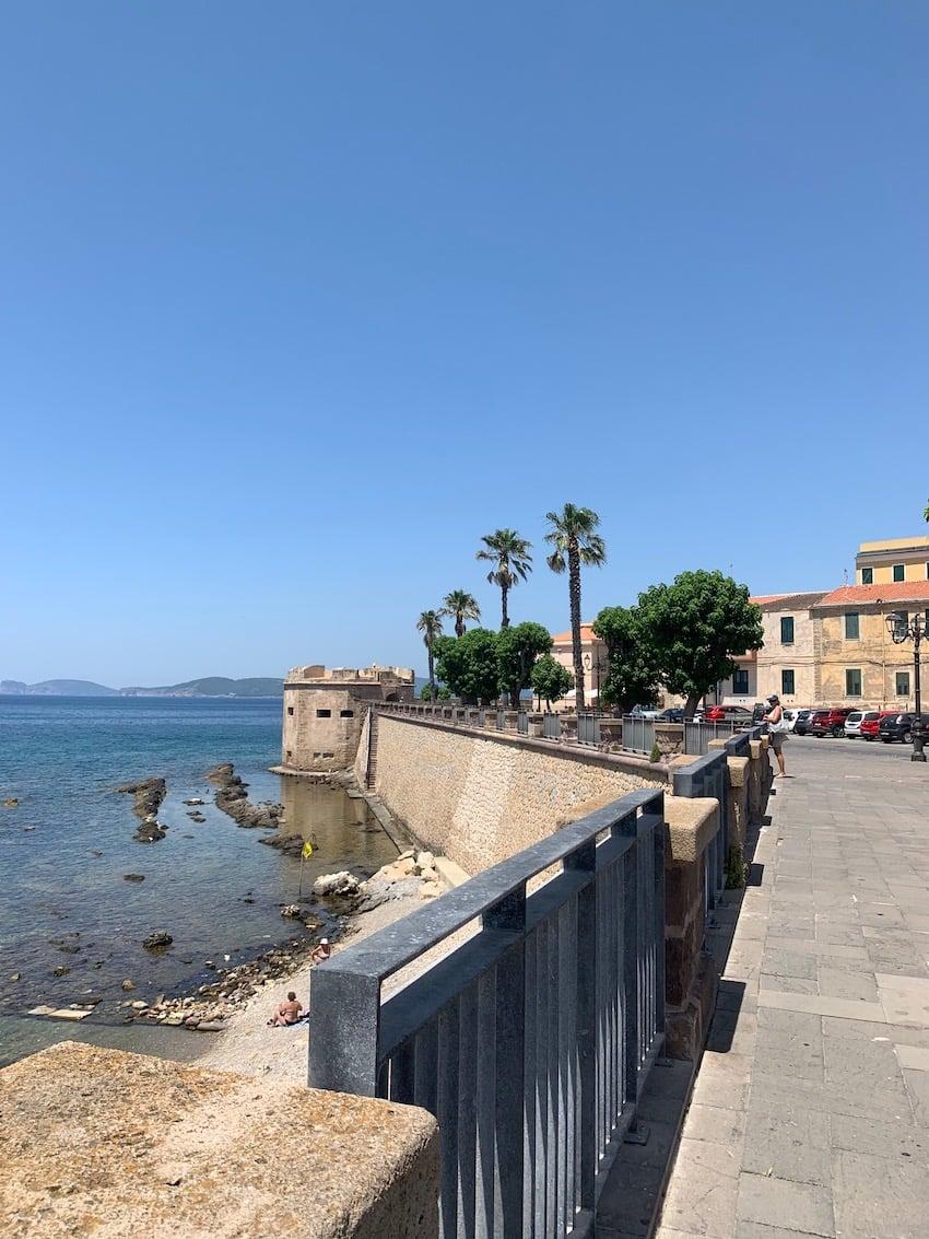 Alghero le port