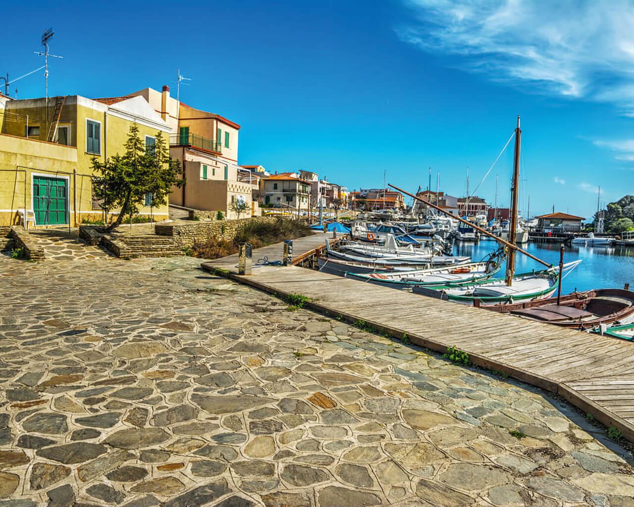 Le port de Stintino