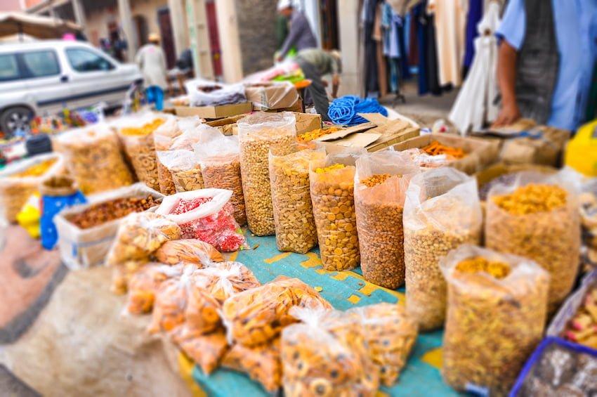 marché de Taliouine