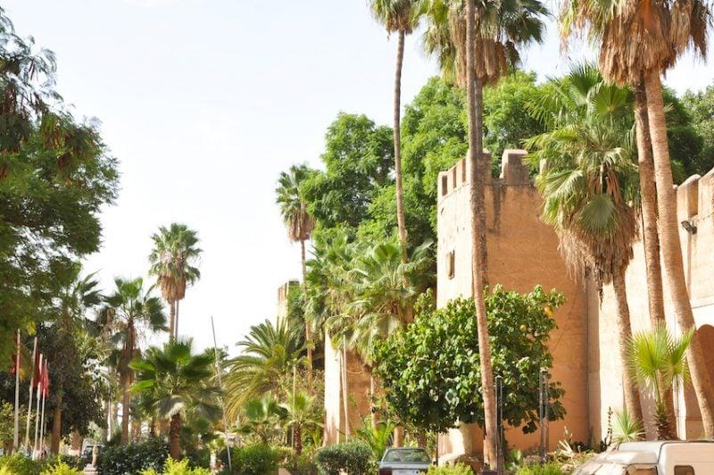La région de Taliouine au Maroc