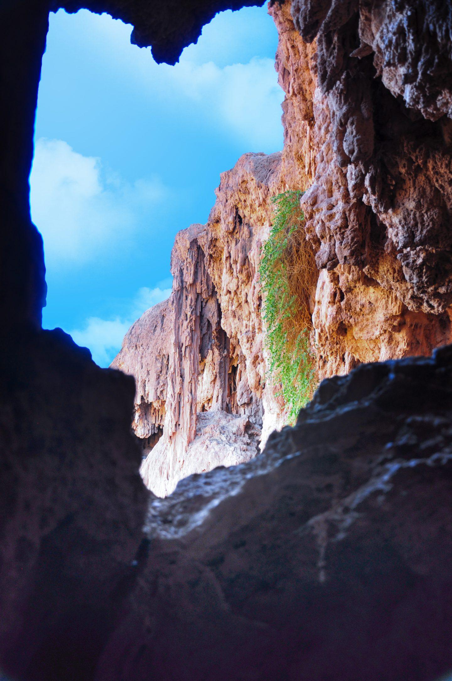 Les grottes sèches