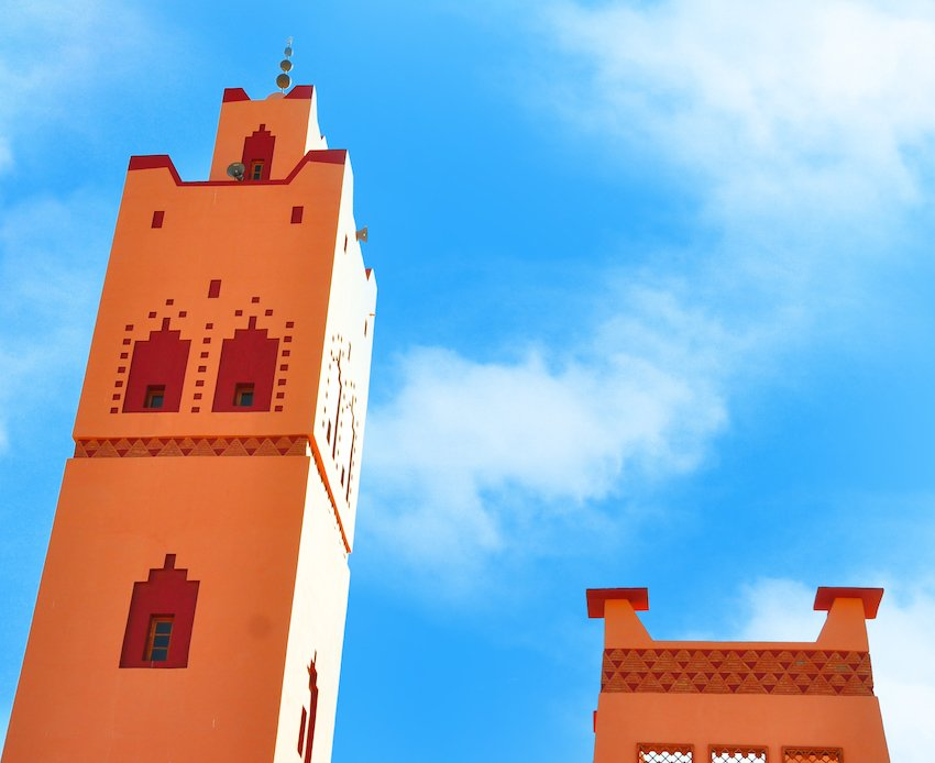 La mosquée de Tata