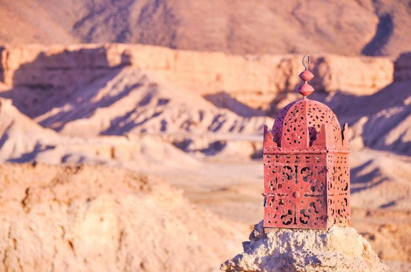 L'expérience du désert Marocain