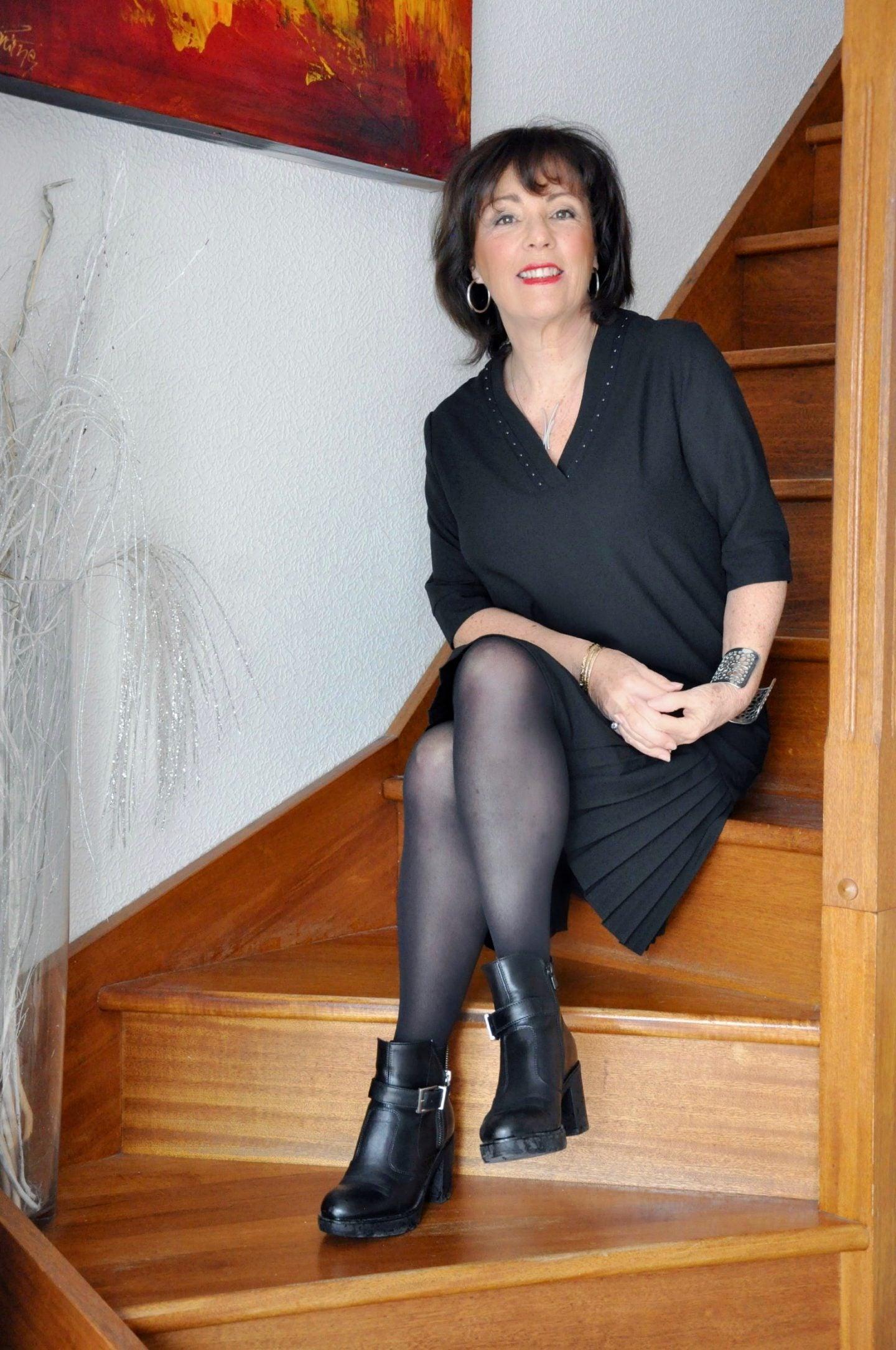 Robe noire Elora