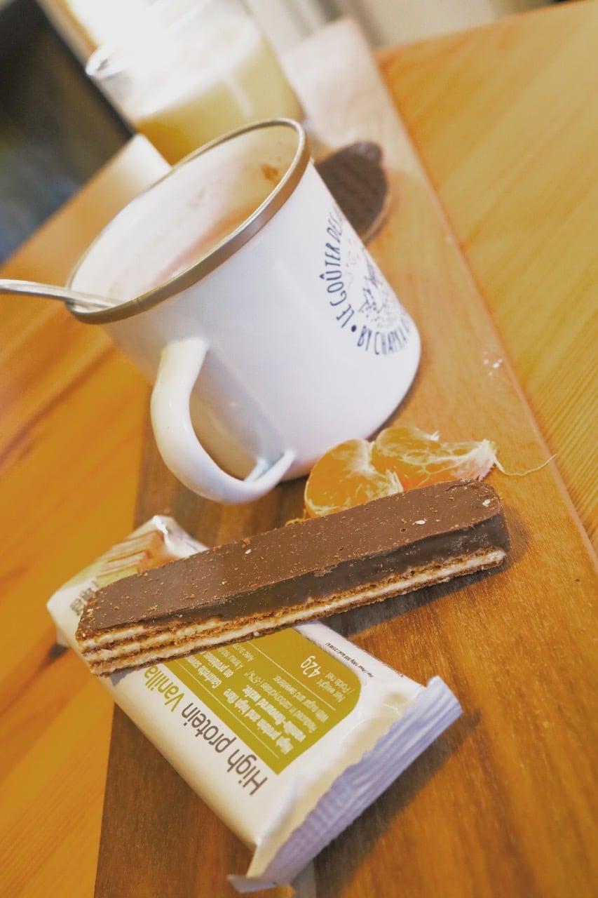 Gaufrettes vanille chocolat